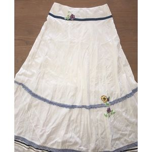 FREE PEOPLE GORGEOUS LONG SKIRT Sz 6